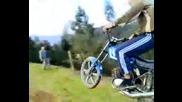 Луд Руснак сцепи мотора на две- Смях