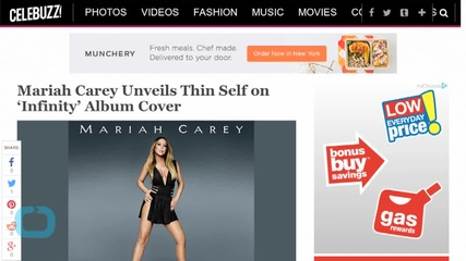 Mariah Carey Unveils Thin Self on 'Infinity' Album Cover