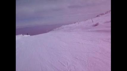 На Ски с камера на Витоша