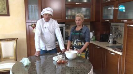"""Страхотен кулинарен тандем: Любе и Дафи Спасови в """"Черешката на тортата"""" (18.12.2020) - част 2"""