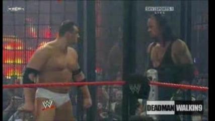 Undertaker Vs Hhh Vs Edge Vs Jeff Hardy Vs Kozlov Vs Big Show - Sd! Elimination Chamber Nwo 2009 1/3