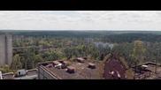 Смразяващо видео заснето край Чернобил