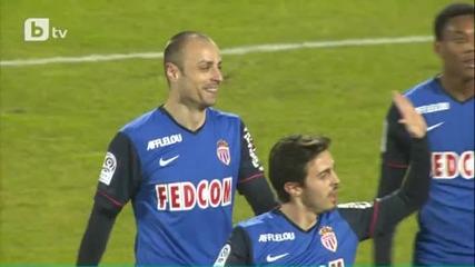 Бербатов бележи страхотен гол.eвиан срещу Монако 1:3