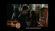 Hot Kiss First Scene from Twilight Sequel New Moon