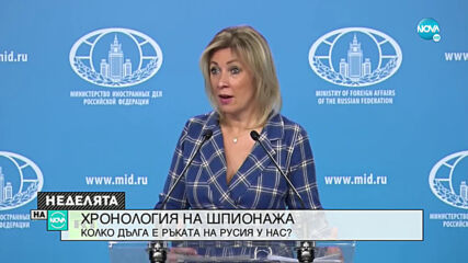 ХРОНОЛОГИЯ НА ШПИОНАЖА: Колко дълга е ръката на Русия у нас?