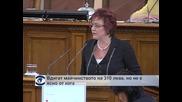 Народното събрание гледа парите за майчинство