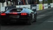 Audi R S 6 Sportmile vs Lamborghini L P 700-4 Aventador vs Bmw M6 F12