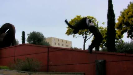 Andrea Catozzi - Акробатични скокове (високо качество)