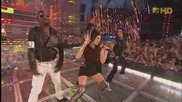 Black Eyed Peas - Boom Boom Pow (live At Mva) (high Definition)