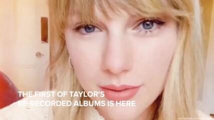 Тейлър Суиф презаписа наново албум от 2008 година!