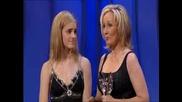 Ема Уотсън Връчва Награда На Дж. Роулинг