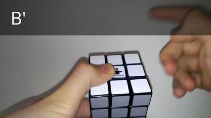 Пояснения към уроците за кубчето на Рубик