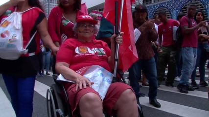Brazil: Thousands protest bid to impeach Rousseff in Sao Paulo