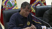 Ecuador: 'The country is calm' - Correa after 6.7M earthquake strikes Ecuador