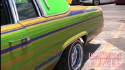 Candy Patterned Lowrider- The Lone Star Series