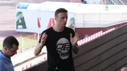 Бербатов се срещна с клубове от София