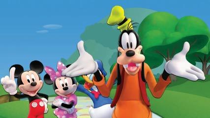 Mickey Mouse Finger Family - Nursery Rhymes Lyrics