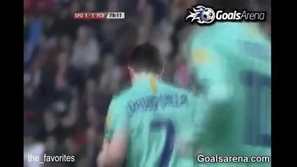 Sporting Gijon 1:1 Barselona
