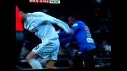 Cristiano Ronaldo Red Card Real Madrid - Malaga 2 - 0 Expulsado Tarjeta Roja