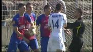 ВИДЕО: Меле между играчите на Левски и Марек