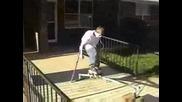 Момче С Парализирани Крака Кара Скейт - Това Е Воля! Vbox7