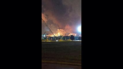 USA: Massive blaze after explosions rock Philadelphia refinery