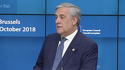 Belgium: May says UK could reach agreement on extended transition - EU's Tajani