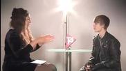 +превод Ужасно Забавно Интервю С Justin Bieber