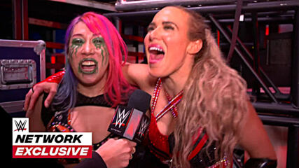 Asuka and Lana do a victory dance: WWE Network Exclusive, Nov. 30, 2020