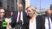 Russia: Marine Le Pen hopes EU lifts anti-Russia sanctions
