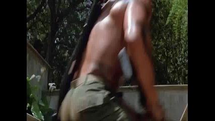 култова сцена от филма Commando