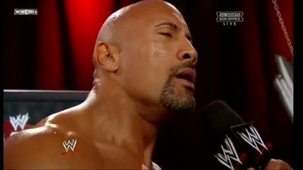 Промо на Скалата от Survivor Series 2011