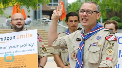 Boy Scouts Leader Urges End to 'Unsustainable' Ban on Gay Adults