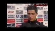 Cristiano Ronaldo Interview 30.01.08