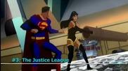 Top 10 Супергеройски отбори