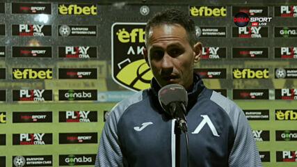 Живко Миланов: Гоним седмото място, но по-важното е да играем без страх