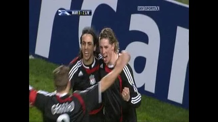 2007-12-11 - Champions League - Group Stage - Marseille 0-2 Liverpool Fc - Torres