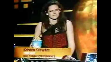 Best Performance Female - Kristen Stewart Mtv Awards 2009