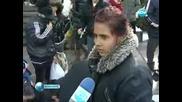 Раздадоха дрехи на бездомници в градовете София, Варна и Велико Търново