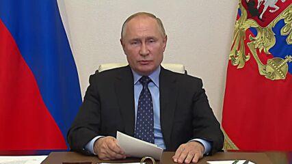 Russia: Putin instructs Gazprom to increase gas storage capacity in Europe