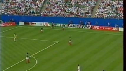 Футбол Мексико - България 1994 - Продължения - Част 2/4 (високо качество)