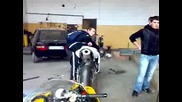 Мижо И Honda 1000rr Leo Vince