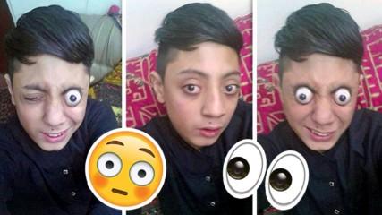 Това ли е най-стреснатото дете в света? Пакистанче с необикновен талант!