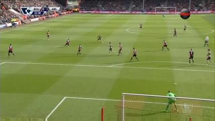 Арсенал откъсна набързо две черешки