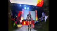 Batista and Randy Orton and John Cena mixed theme(you cant see the voices that walk alone)