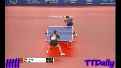 Ma Long vs Xu Xin (2009 Pro Tour Grand Final - Final) [hq]