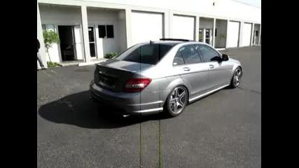 Mercedes Benz C63 Exhaust