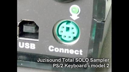 Total Solo Sampler и Ps/2 клавиатура - Модел 2