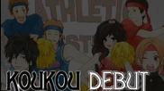 Koukou Debut fan Op