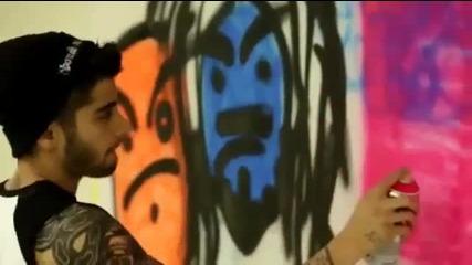 1d Day - Zayn Graffiti Art